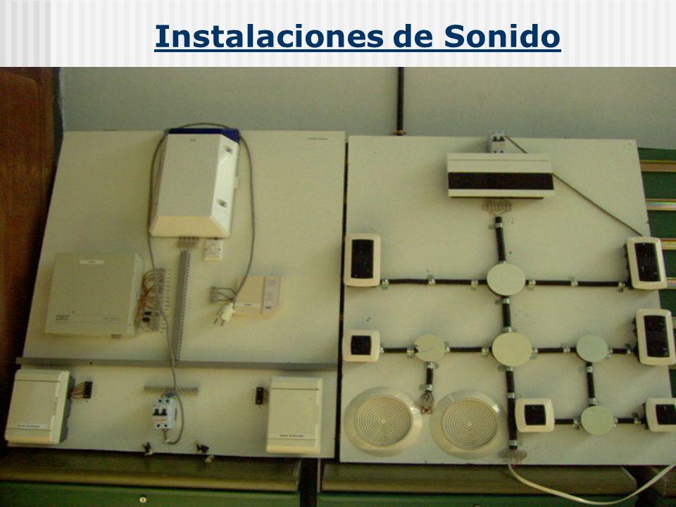 Instalaciones de Sonido