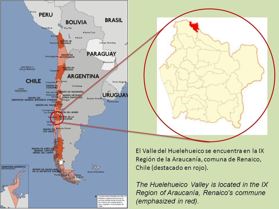 Está ubicado en la cuenca del estero Tijeral y cuenta con dos unidades territoriales: Huelehueico y Manzanares.