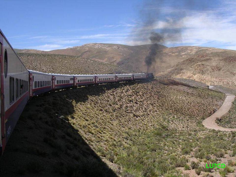 Paisaje visto desde el tren LU7CD