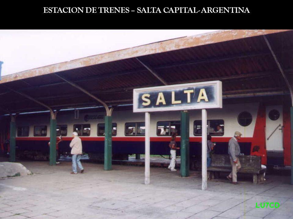 Estación de Chorrillos LU7CD