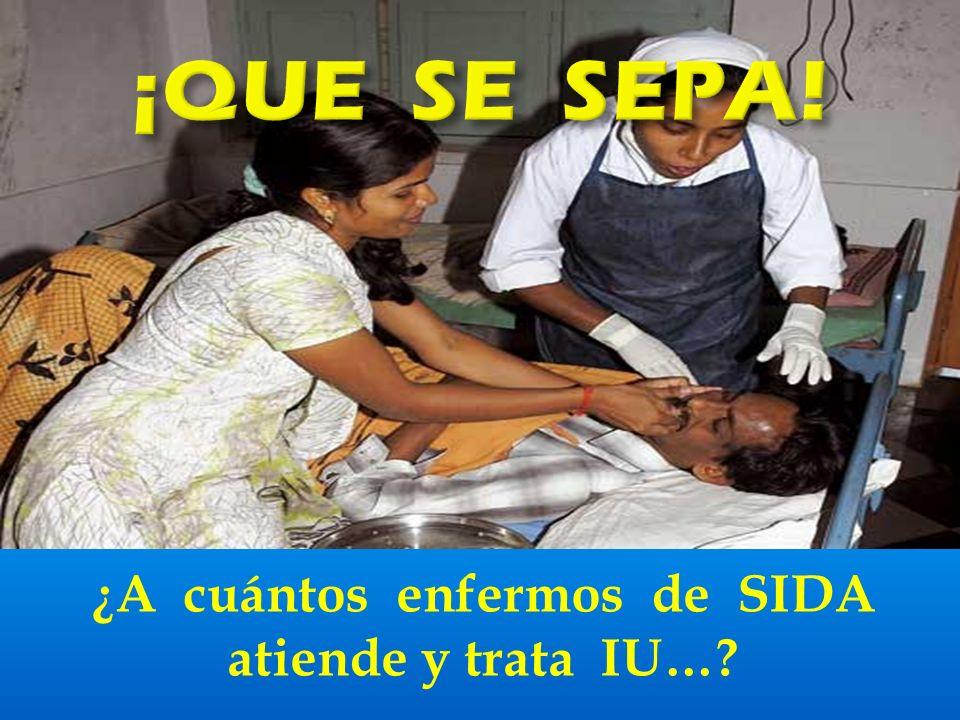 ¿Cuántos hospitales para enfermos terminales ha abierto UGT…?