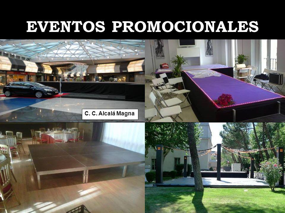 EVENTOS PROMOCIONALES C. C. Alcalá Magna