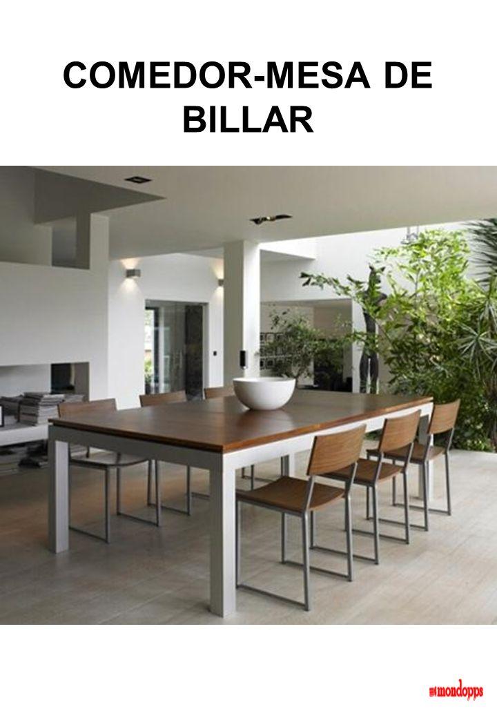 COMEDOR-MESA DE BILLAR