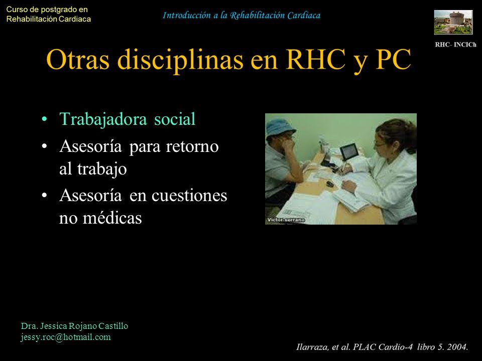 Trabajadora social Asesoría para retorno al trabajo Asesoría en cuestiones no médicas Dra. Jessica Rojano Castillo jessy.roc@hotmail.com