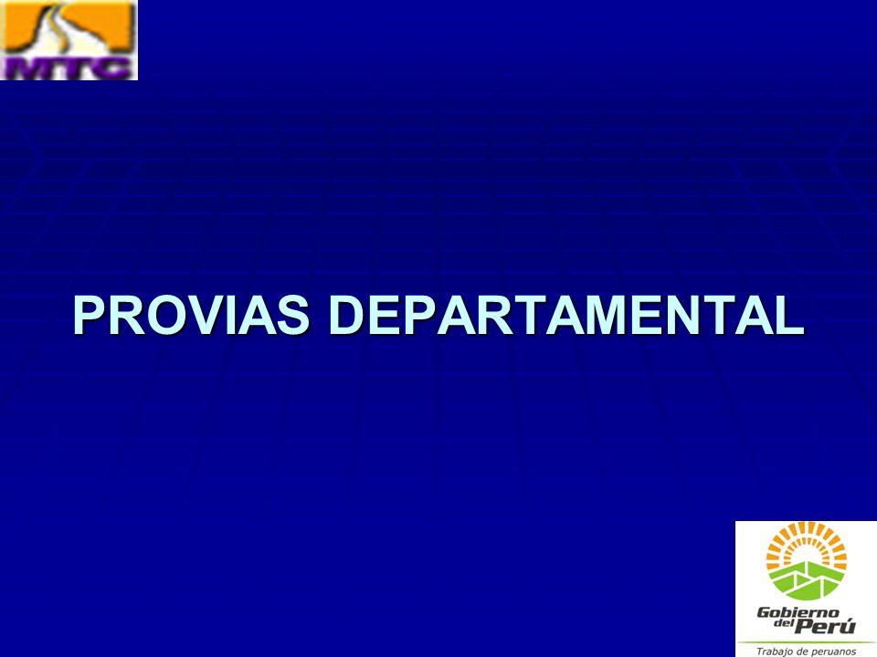 PROVIAS DEPARTAMENTAL