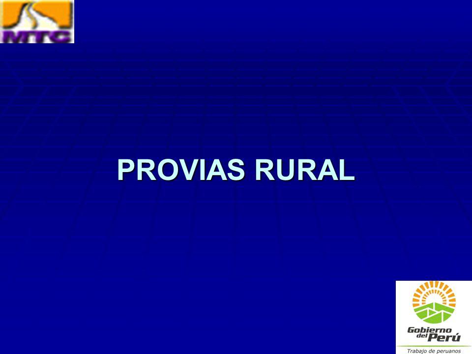 PROVIAS RURAL