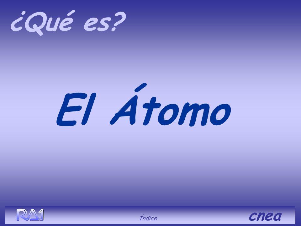 cnea El Átomo La Molécula La Radiación La Activación del átomo La Fisión Sección eficaz Usos de la Energía atómica En el reactor La Reacción en cadena
