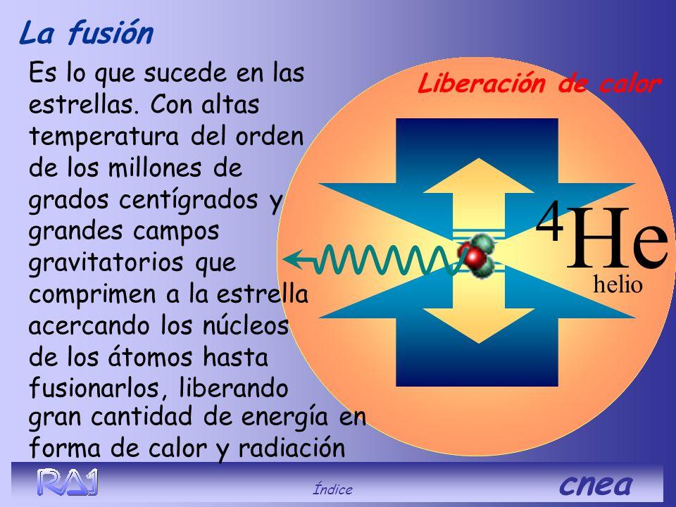 La fusión se produce cuando los núcleos de dos átomos(con carga positiva que se repelen entre sí) son obligados a acercarse tanto (venciendo las fuerz