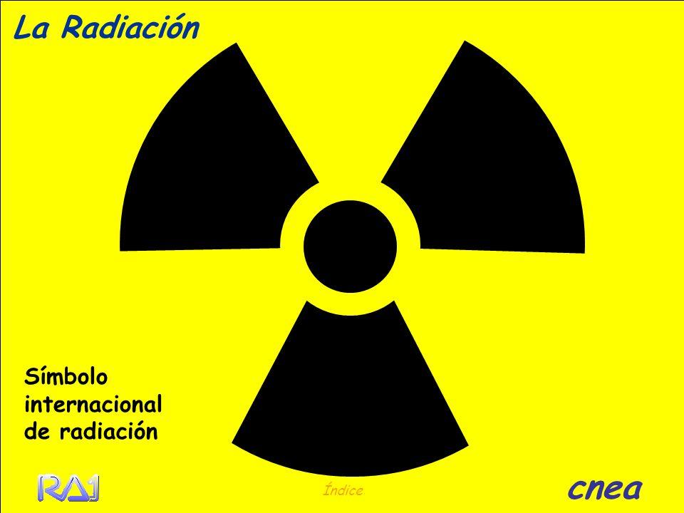 La Radiación ¿Qué es? Índice cnea