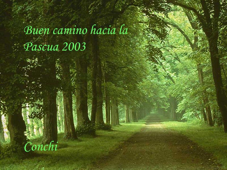 Buen camino hacia la Pascua 2003 Conchi