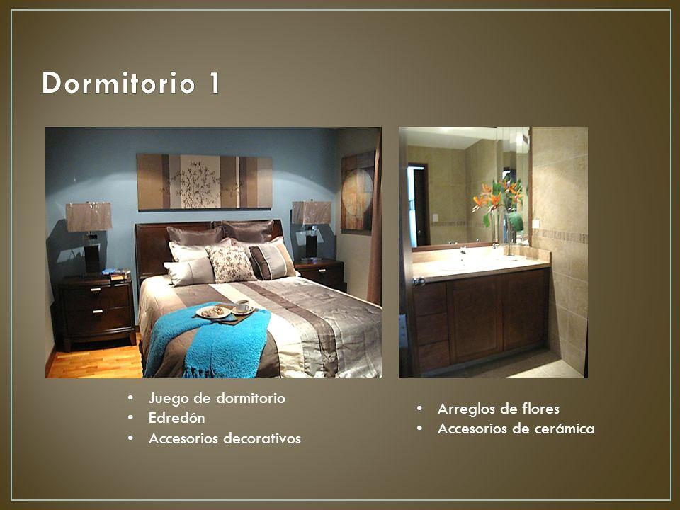 Juego de dormitorio Edredón Accesorios decorativos Arreglos de flores Accesorios de cerámica