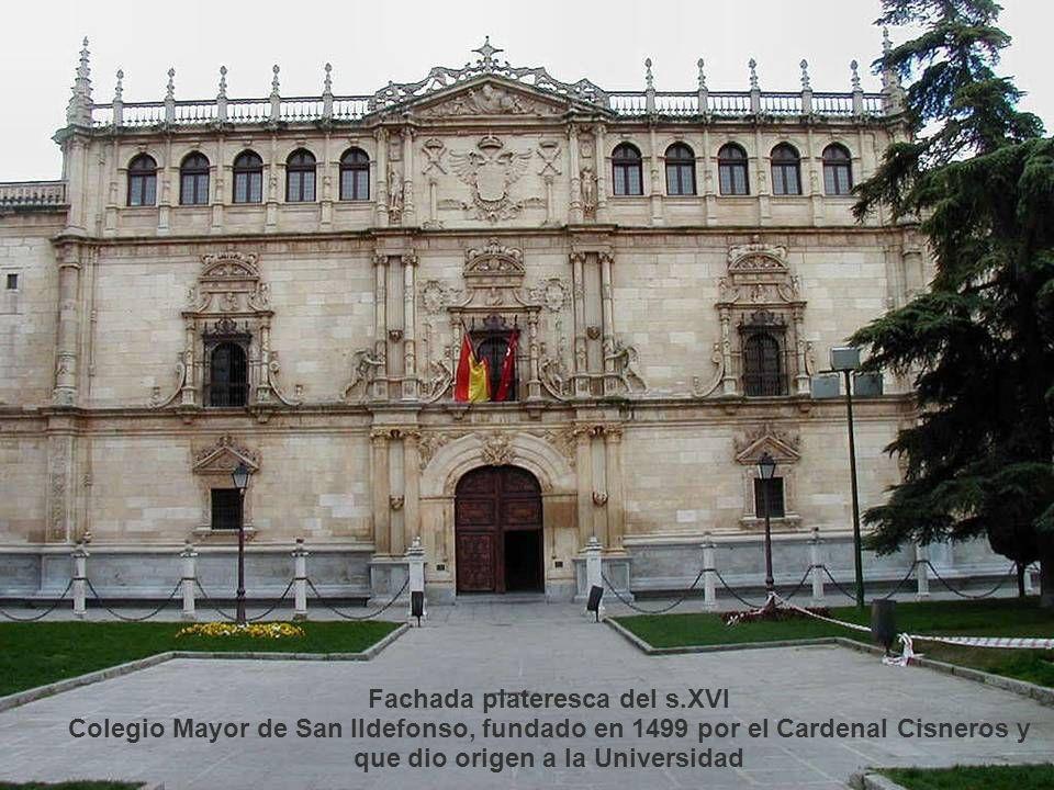 Universidad La universidad fue fundada en el año 1499 a partir del antiguo Studium Generale de Alcalá de Henares, del que Cisneros fue alumno. La Univ