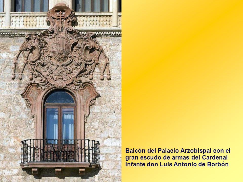 Palacio Arzobispal Fue la residencia de los arzobispos de Toledo entre los siglos XIII y XIX, en él se celebraron Cortes del Reino y concilios, y fue