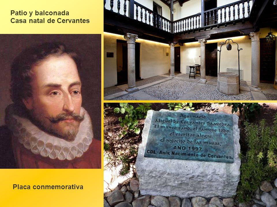 El actual museo, inaugurado en 1956 como Museo Casa Natal de Cervantes, es fruto de la reconstrucción de la finca originaria. Esta intervención supuso