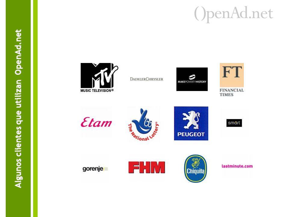 Algunos clientes que utilizan OpenAd.net
