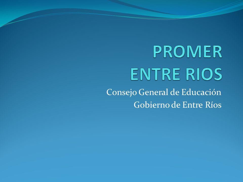 Consejo General de Educación Gobierno de Entre Ríos