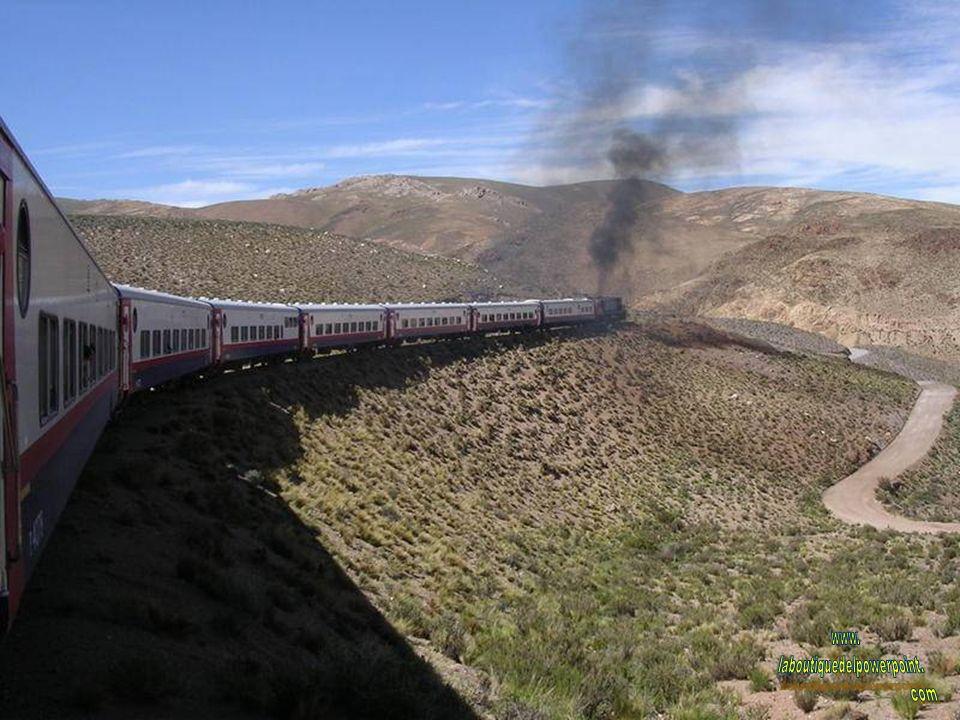 Paisaje visto desde el tren