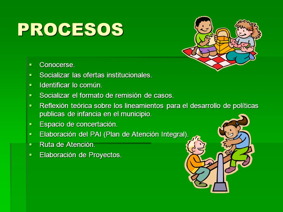 ATENCION INTEGRAL Con una mirada compleja, siguiendo los lineamientos para el desarrollo de políticas publicas de infancia en el Municipio que es EL TOTOYA que significa TODOS CON TODO YA, enfocada en cuatro áreas de Derecho: Con una mirada compleja, siguiendo los lineamientos para el desarrollo de políticas publicas de infancia en el Municipio que es EL TOTOYA que significa TODOS CON TODO YA, enfocada en cuatro áreas de Derecho: -EXISTENCIA (Salud) -DESARROLLO (Sec de Educación y Jefe de Núcleo, Ludoteca, Salud) -CIUDADANIA (Registraduria y Personeros Estudiantiles) -PROTECCION (ICBF, Comisaría de Familia, Personería, Policía de Infancia y Adolescencia, Redes Sociales)