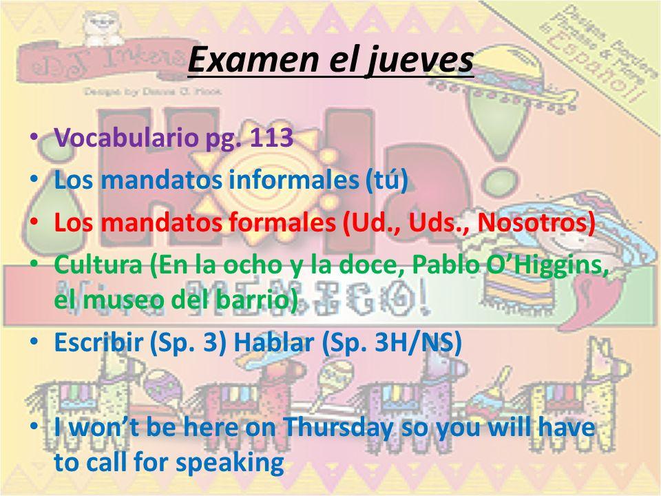 All students: Libreta pg. 58 SAQUEN LA TAREA