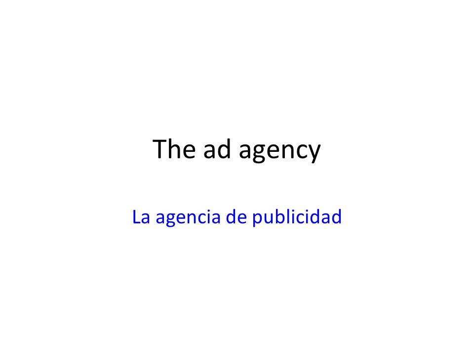 The ad agency La agencia de publicidad