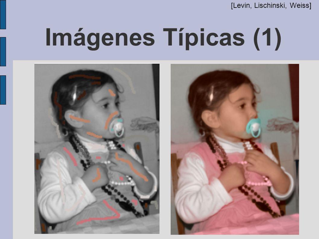 Imágenes Típicas (1) [Levin, Lischinski, Weiss]