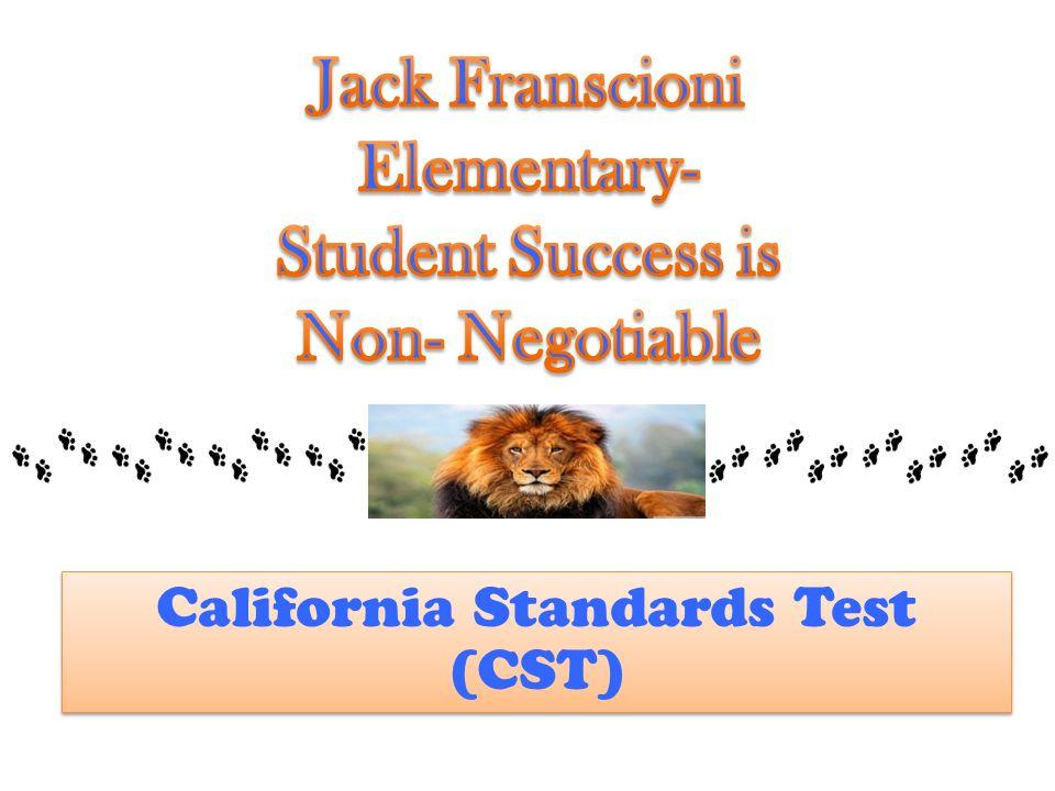 California Standards Test (CST)