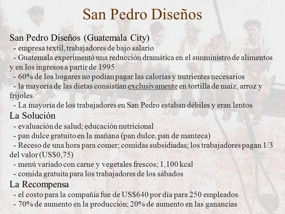 San Pedro Diseños San Pedro Diseños (Guatemala City) - empresa textil, trabajadores de bajo salario - Guatemala experimentó una reducción dramática en