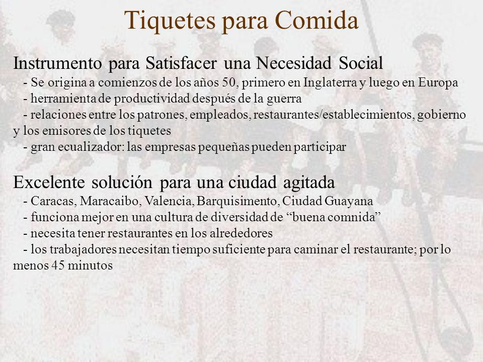 Instrumento para Satisfacer una Necesidad Social - Se origina a comienzos de los años 50, primero en Inglaterra y luego en Europa - herramienta de pro