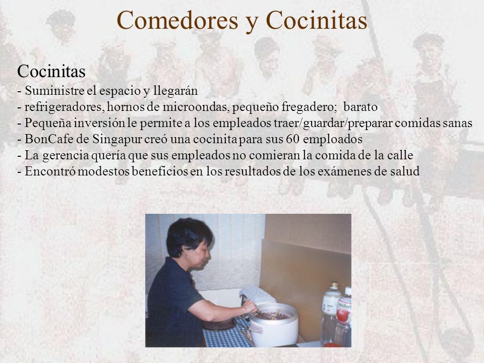 Comedores y Cocinitas Cocinitas - Suministre el espacio y llegarán - refrigeradores, hornos de microondas, pequeño fregadero; barato - Pequeña inversi