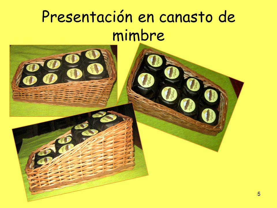 6 Alfajor artesanal 3 unidades CONCEPTODETALLE CODIGO BARRA 7804637200016