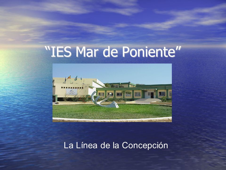 IES Mar de Poniente La Línea de la Concepción