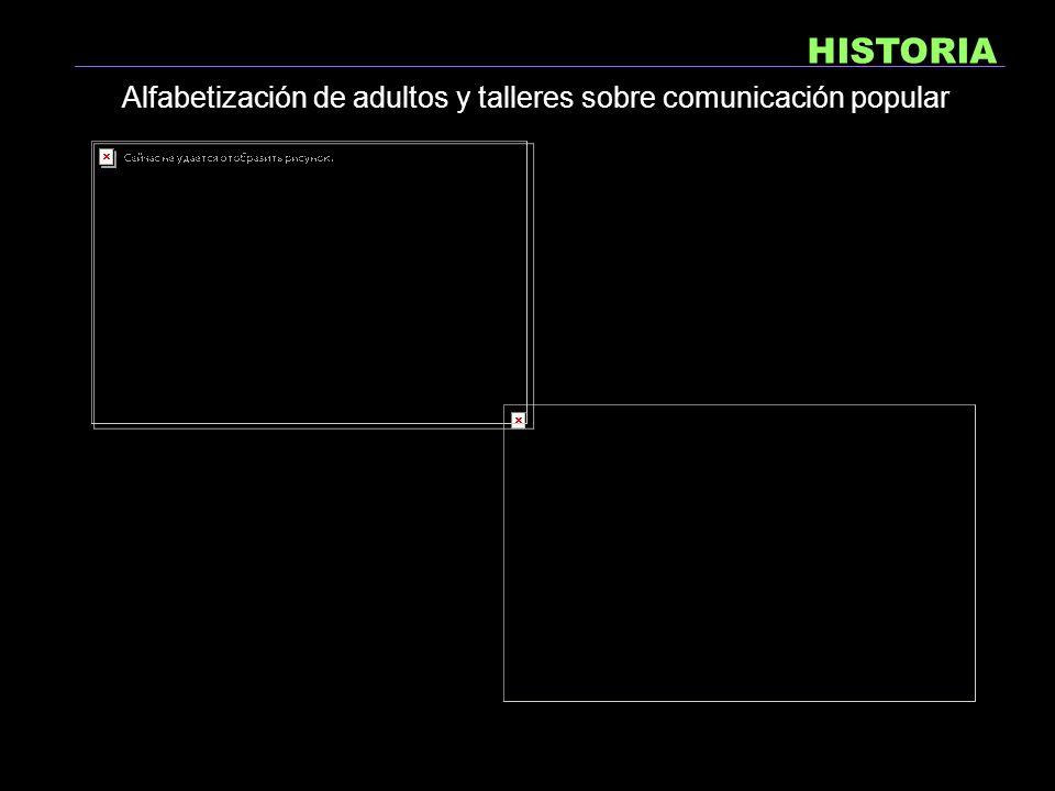 HISTORIA Trabajo en el distrito de Aguablanca en alfabetización y escuela popular en primaria 1998-2001 LICEO ALTERNATIVO NUEVA PROPUESTA
