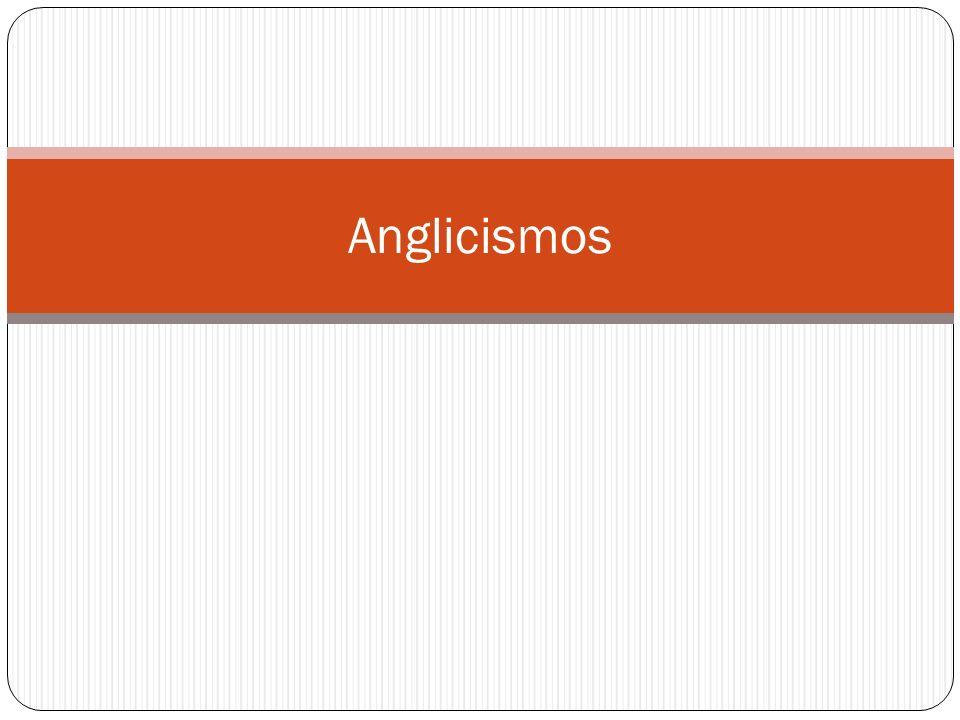 Tipología Anglicismo crudo: esta palabra mantiene en español la grafía inglesa y un reflejo de la pronunciación originaria más o menos fonético.