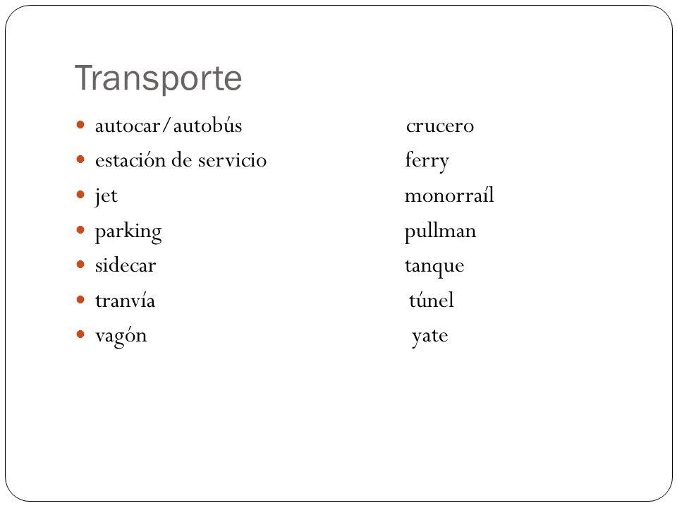 Transporte autocar/autobús crucero estación de servicio ferry jet monorraíl parking pullman sidecar tanque tranvía túnel vagón yate