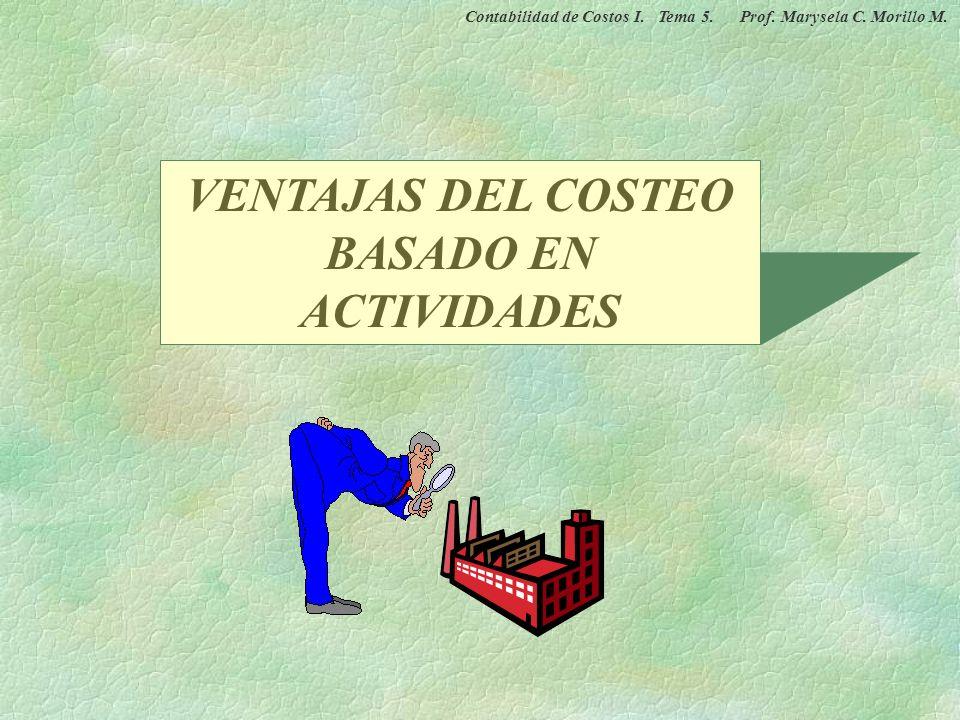 CASO PRÁCTICO DEL COSTEO BASADO EN ACTIVIDADES RECURSOS OBJETO DE COSTOS ACTIVIDADES Montaje Electricidad Depreciación Manejo de materiales Operación