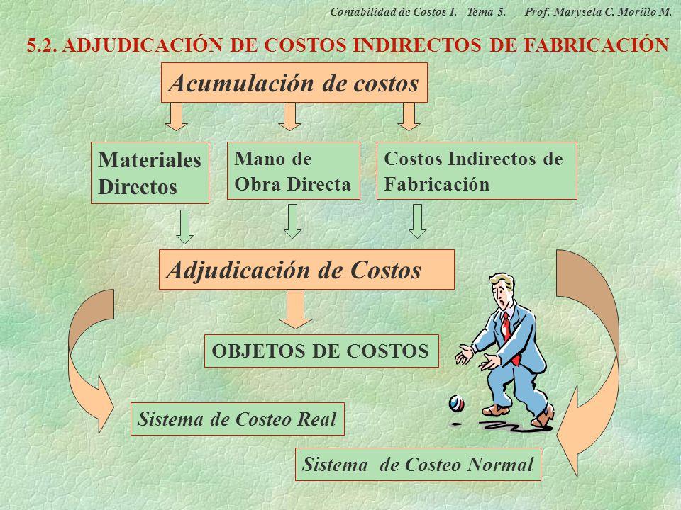 RED DE FLUJO FÍSICO DE COSTOS SISTEMAS DE ACUMULACIÓN Y CONTROL DE COSTOS Almacenamiento Procesamiento Almacenamiento Contabilidad de Costos I. Tema 5