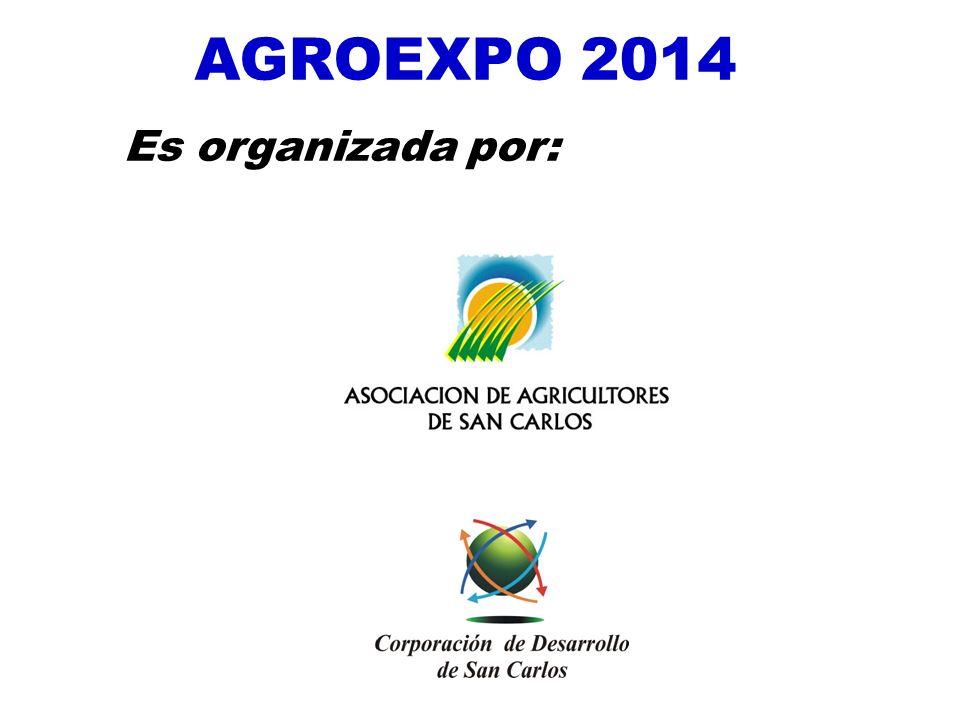 AGROEXPO 2014 Es organizada por: