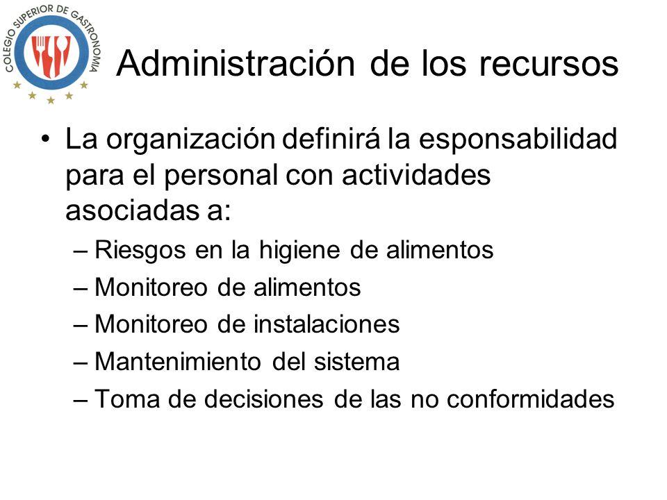 Marco normativo La organización debe identificar, tener acceso y cumplir con las normas aplicables a los aspectos de higiene, como son: –SSOP –GMP –No
