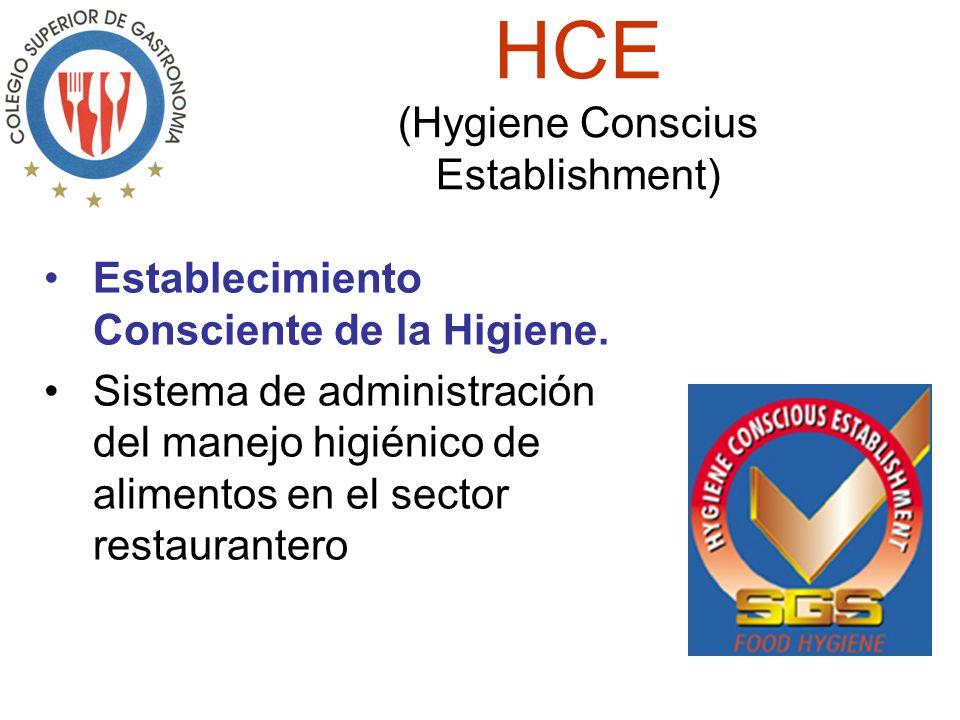 HCE (Hygiene Conscius Establishment) Establecimiento Consciente de la Higiene.