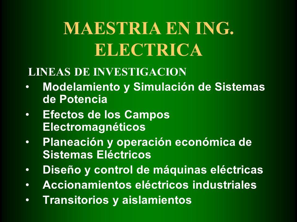 MAESTRIA EN ING.