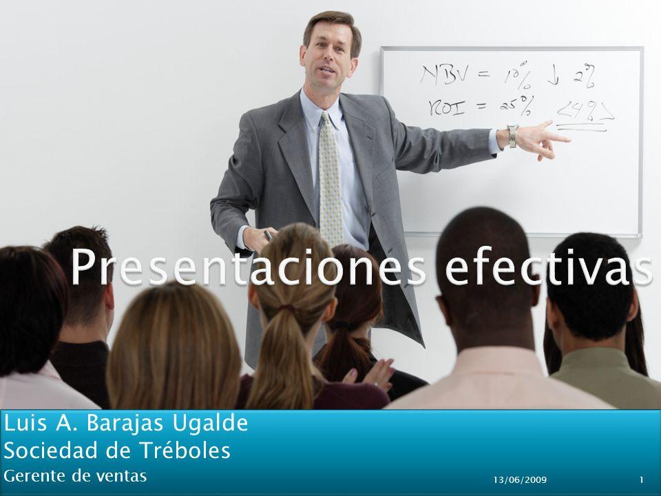 Luis A.Barajas Ugalde Sociedad de Tréboles Gerente de ventas Luis A.