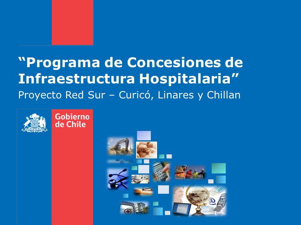 Programa de Concesiones de Infraestructura Hospitalaria Proyecto Red Sur – Curicó, Linares y Chillan