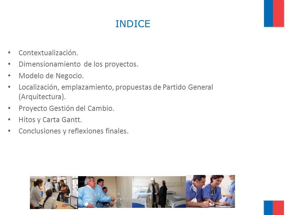 INDICE Contextualización.Dimensionamiento de los proyectos.
