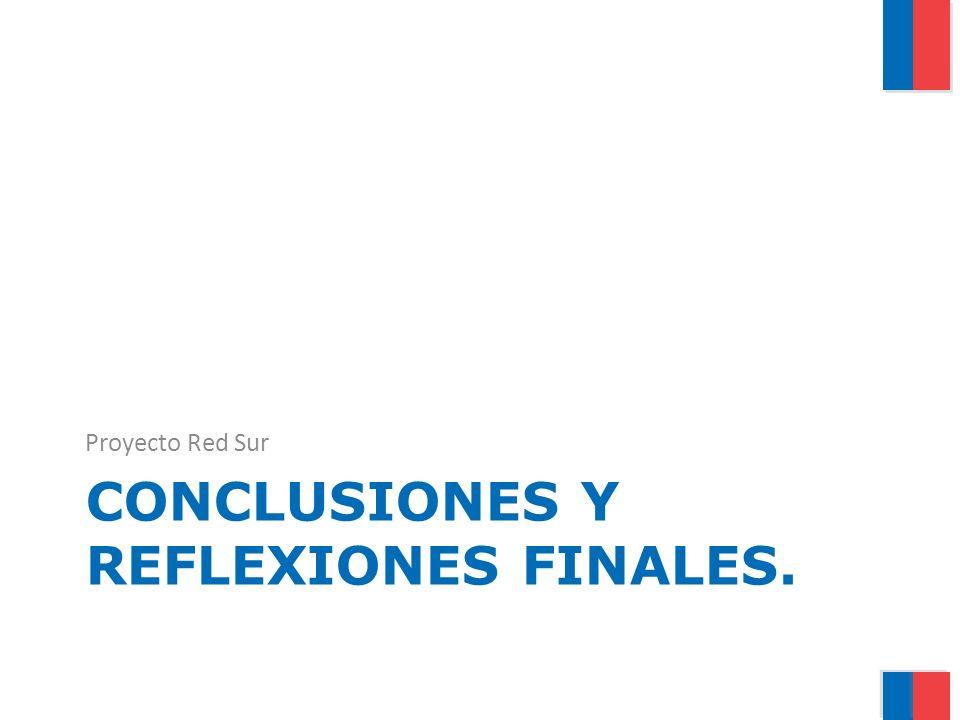 CONCLUSIONES Y REFLEXIONES FINALES. Proyecto Red Sur
