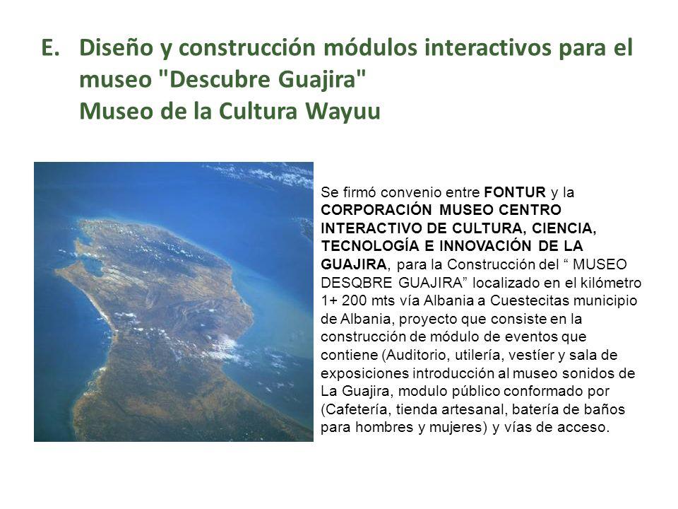 E.Diseño y construcción módulos interactivos para el museo