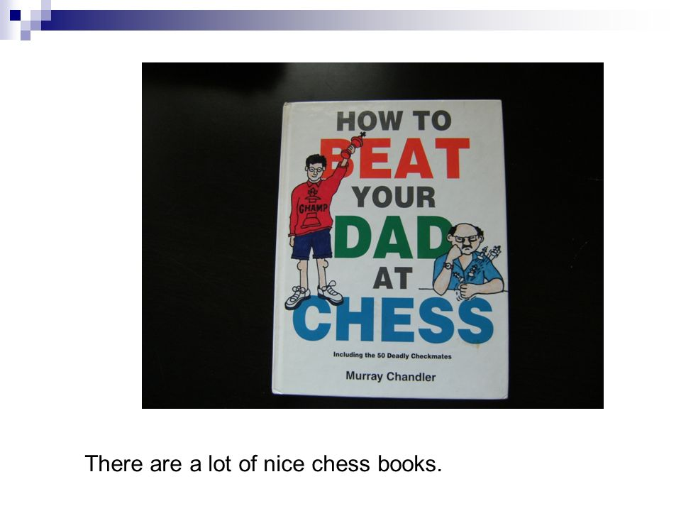 There are a lot of nice chess books.