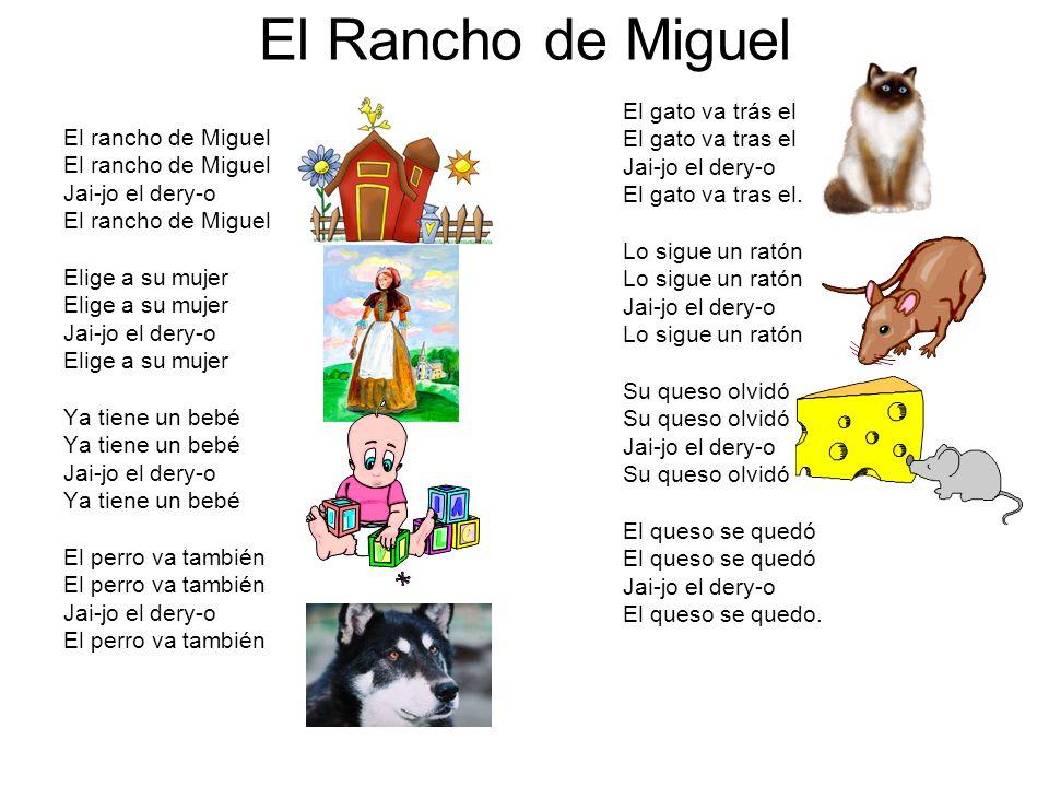 El Rancho de Miguel El rancho de Miguel Jai-jo el dery-o El rancho de Miguel Elige a su mujer Jai-jo el dery-o Elige a su mujer Ya tiene un bebé Jai-j