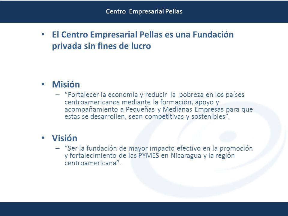 Centro Empresarial Pellas Misión – Fortalecer la economía y reducir la pobreza en los países centroamericanos mediante la formación, apoyo y acompañam