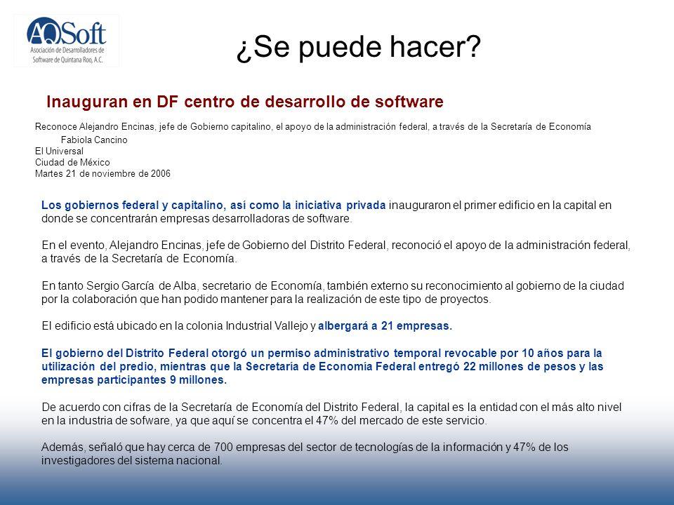 ¿Se puede hacer? Reconoce Alejandro Encinas, jefe de Gobierno capitalino, el apoyo de la administración federal, a través de la Secretaría de Economía