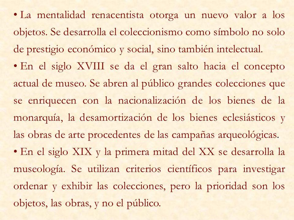 MUSEOS DE ETNOGRAFÍA Y ANTROPOLOGÍA: están dedicados a las culturas o elementos culturales pre- industriales.